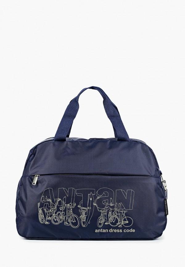 мужская сумка antan, синяя