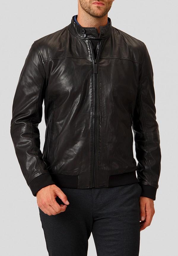 Купить Куртка кожаная Finn Flare, mp002xm23uix, черный, Осень-зима 2018/2019