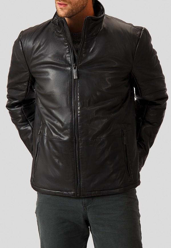 Купить Куртка кожаная Finn Flare, mp002xm23uiz, черный, Осень-зима 2018/2019
