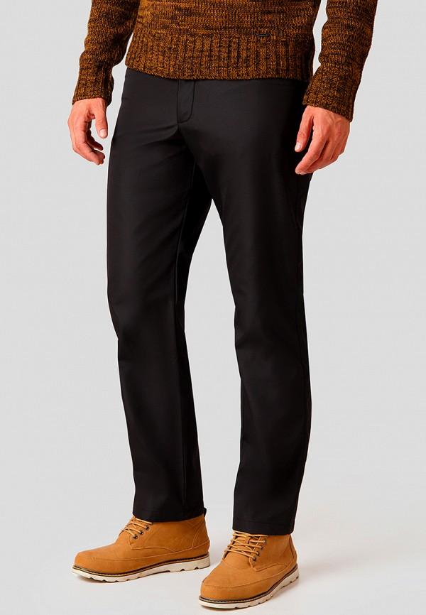 мужские повседневные брюки finn flare, черные
