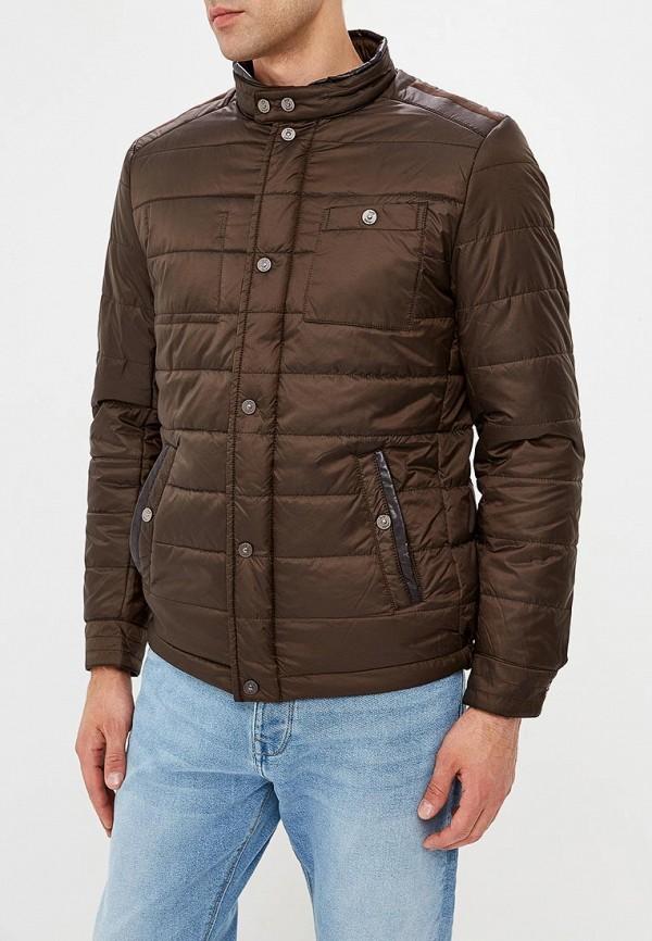 мужская куртка jorg weber, коричневая