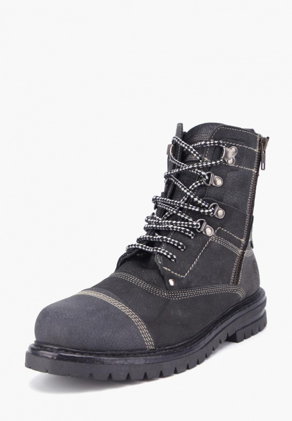 мужские ботинки airbox, черные
