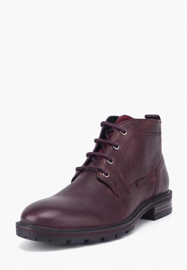 мужские ботинки airbox, бордовые