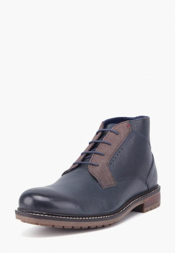 Фото - Мужские ботинки и полуботинки Airbox синего цвета