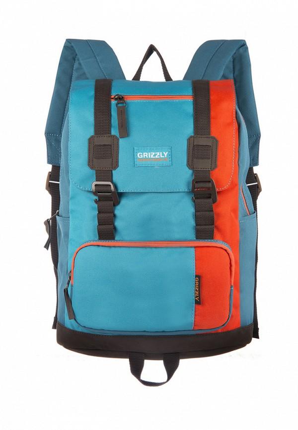 Рюкзак Grizzly цвет бирюзовый