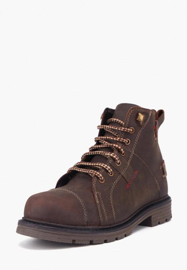 мужские ботинки airbox, коричневые