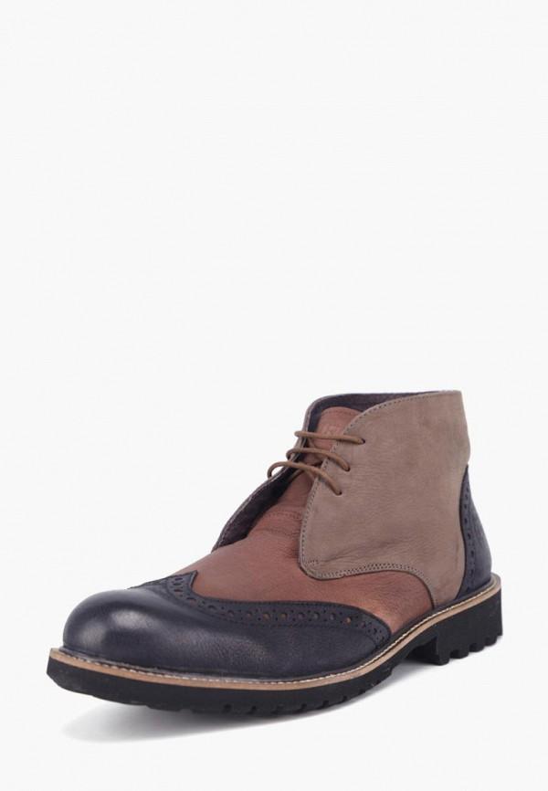 Фото - Мужские ботинки и полуботинки Airbox коричневого цвета
