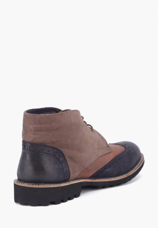Фото 2 - Мужские ботинки и полуботинки Airbox коричневого цвета