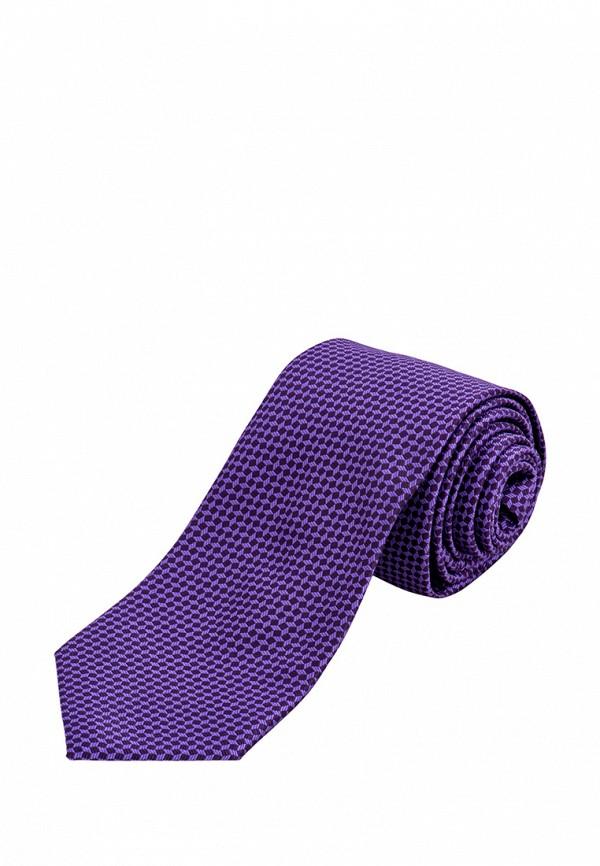 Галстук  фиолетовый цвета