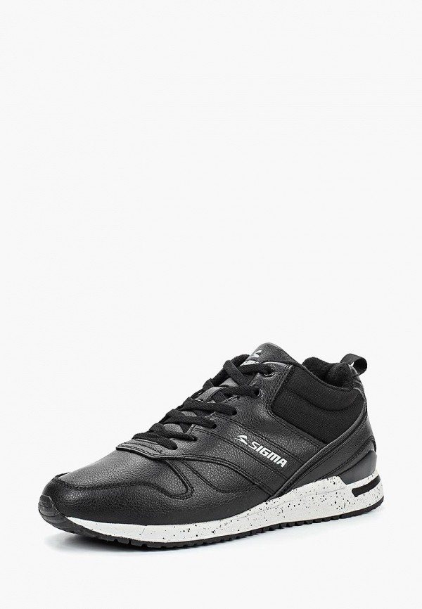 Купить Мужские кроссовки Sigma черного цвета