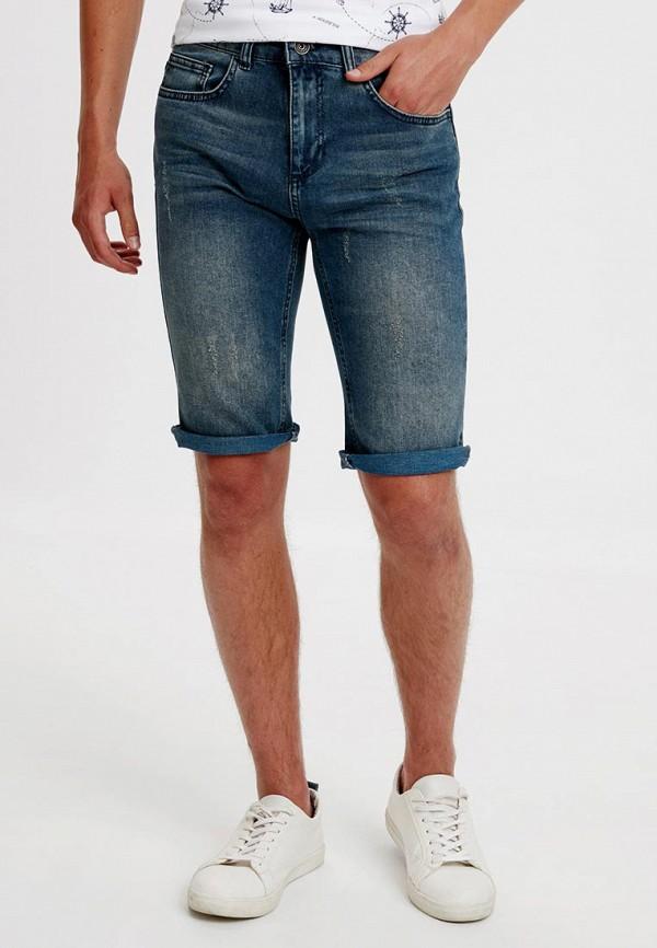мужские джинсовые шорты lc waikiki, синие