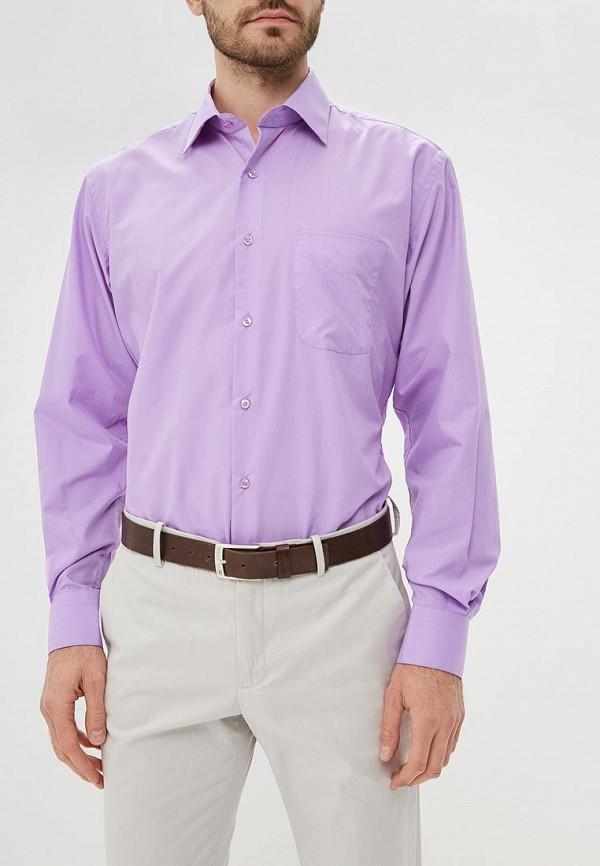 мужская рубашка с длинным рукавом fayzoff s.a, фиолетовая