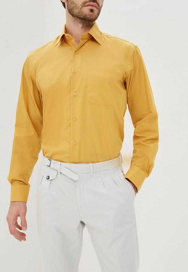 мужская рубашка с длинным рукавом fayzoff s.a, желтая