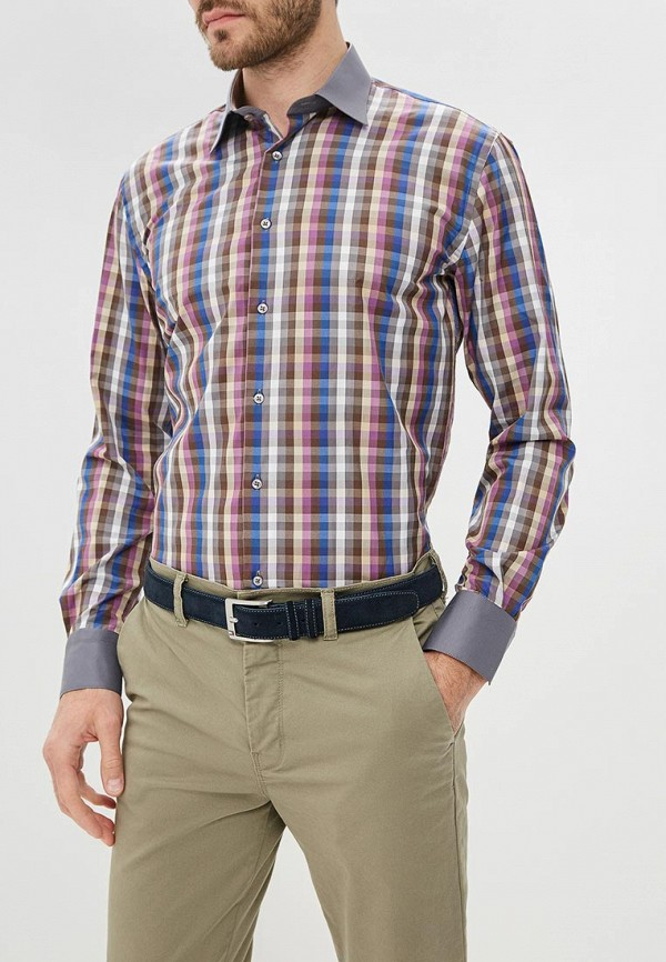 мужская рубашка с длинным рукавом fayzoff s.a, разноцветная