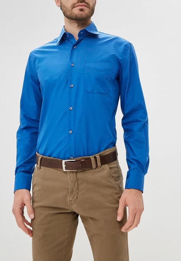 мужская рубашка с длинным рукавом fayzoff s.a, синяя