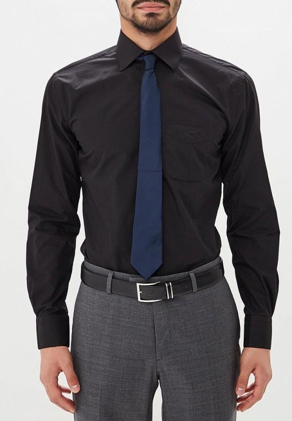 мужская рубашка с длинным рукавом fayzoff s.a, черная