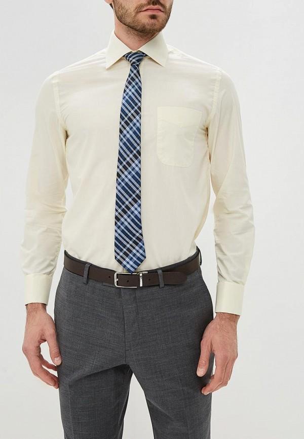 мужская рубашка с длинным рукавом fayzoff s.a, бежевая