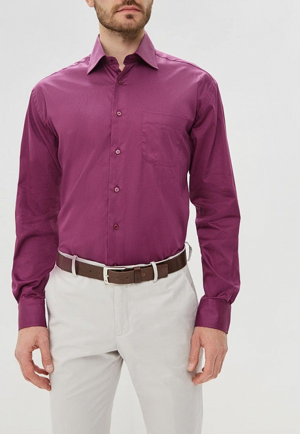 мужская рубашка с длинным рукавом ir.lush, бордовая