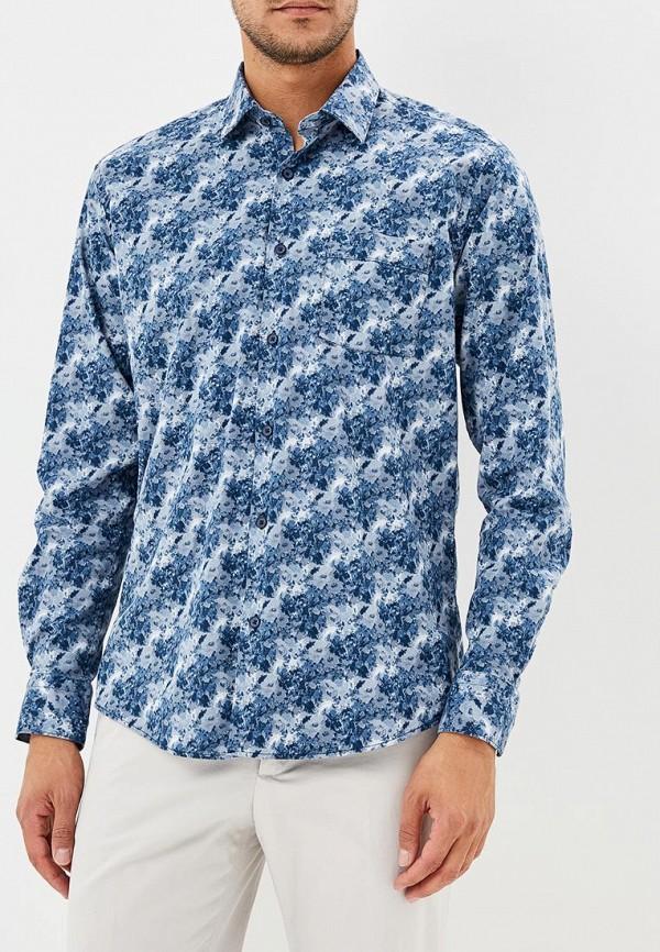 Рубашка Bawer, Рубашка прямого кроя Classic Fit., MP002XM23W64, синий, Осень-зима 2018/2019  - купить со скидкой