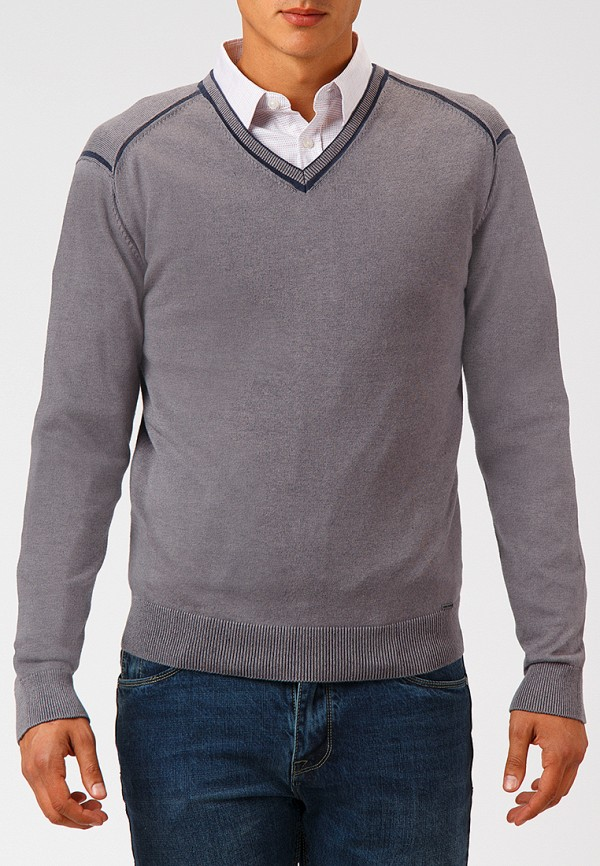 Купить Пуловер Finn Flare, MP002XM23W9D, серый, Осень-зима 2018/2019