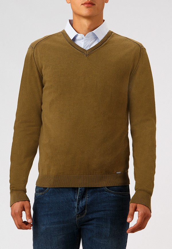 Купить Пуловер Finn Flare, MP002XM23WAA, хаки, Осень-зима 2018/2019