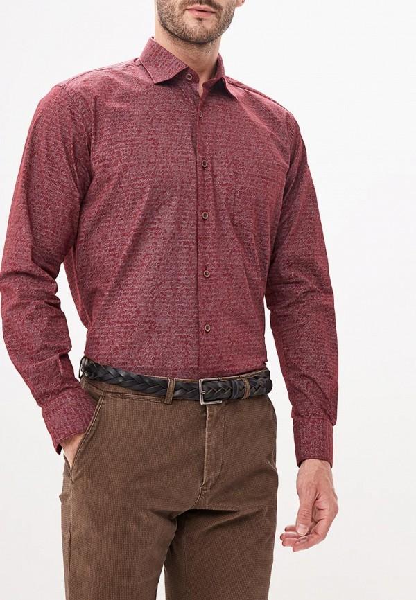 Купить Рубашка Bawer, Classic Fit, MP002XM23WH2, бордовый, Осень-зима 2018/2019