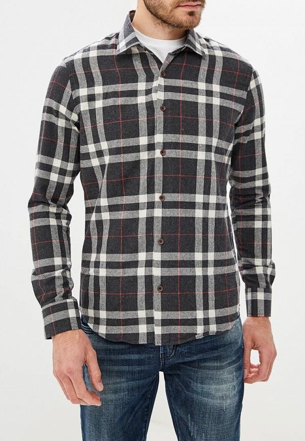 Купить Рубашка Biriz, Полуприталенная Regular Fit, MP002XM23WHF, черный, Осень-зима 2018/2019