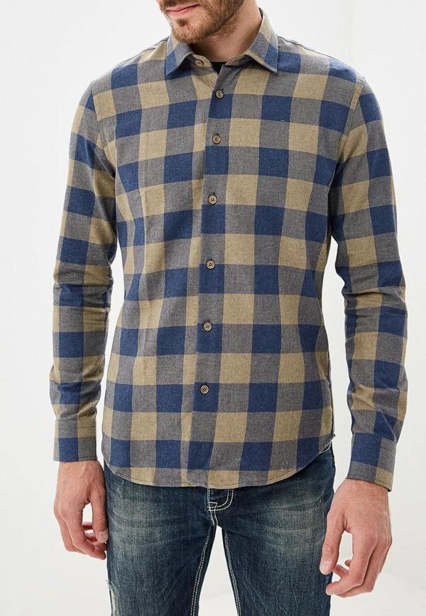 Купить Мужскую рубашку Biriz синего цвета