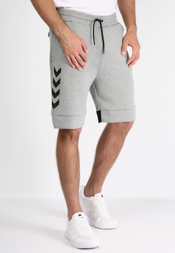 мужские повседневные шорты hummel, серые