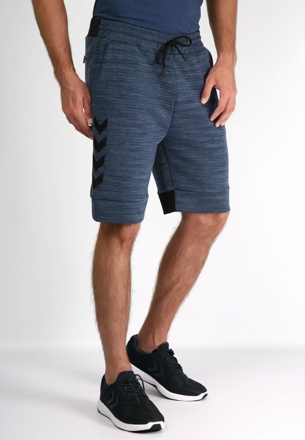 мужские повседневные шорты hummel, синие
