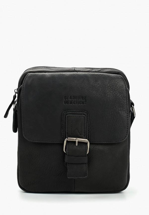мужская сумка dr.koffer, черная