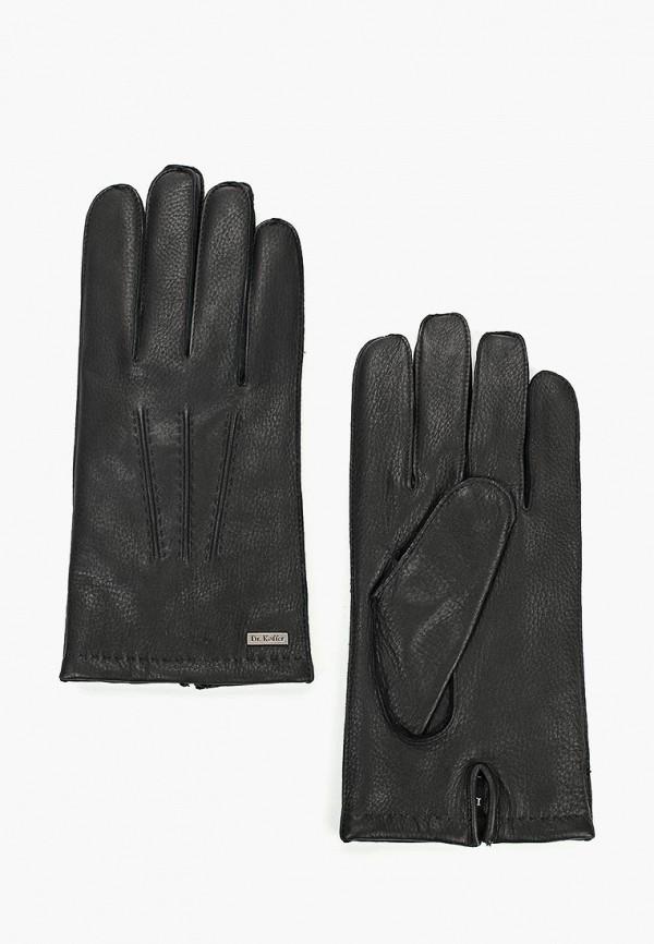 мужские перчатки dr.koffer, черные