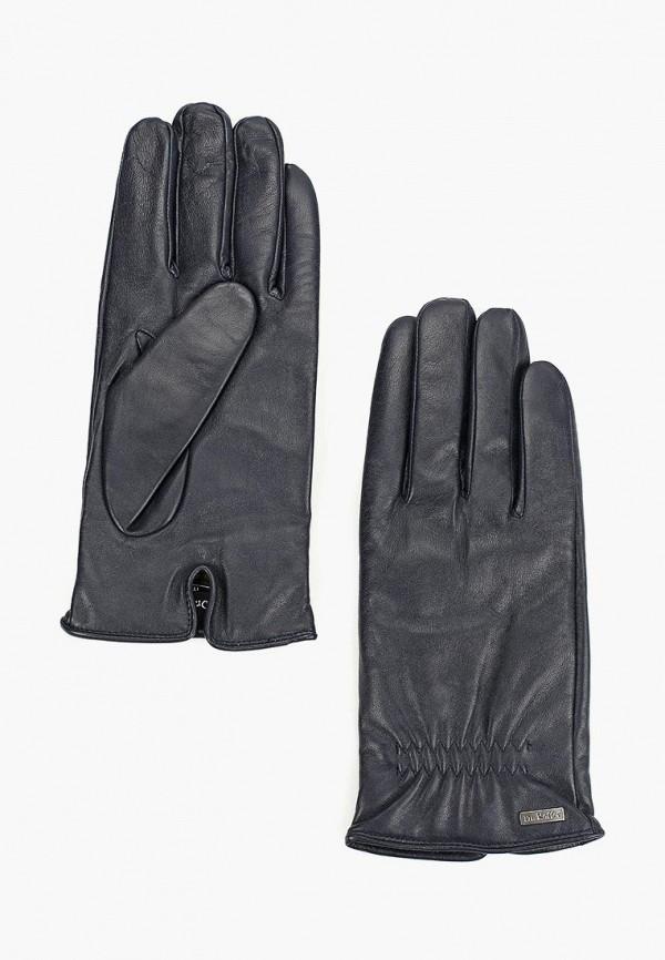 мужские перчатки dr.koffer, синие
