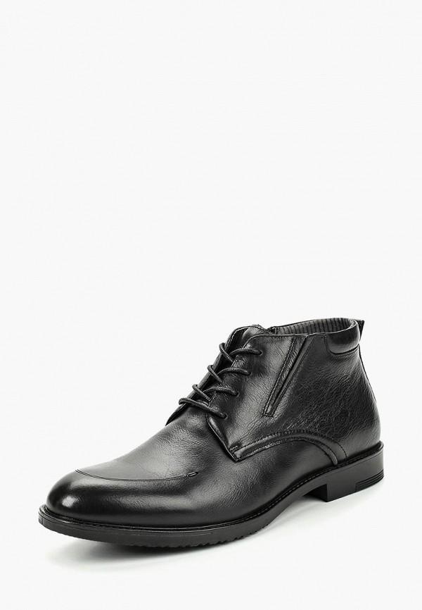 мужские ботинки dino ricci, черные