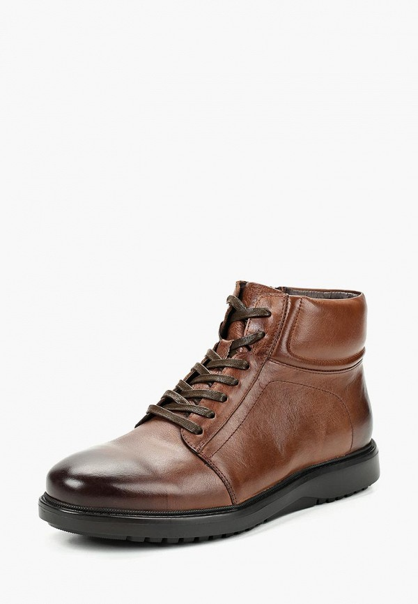 мужские ботинки dino ricci, коричневые