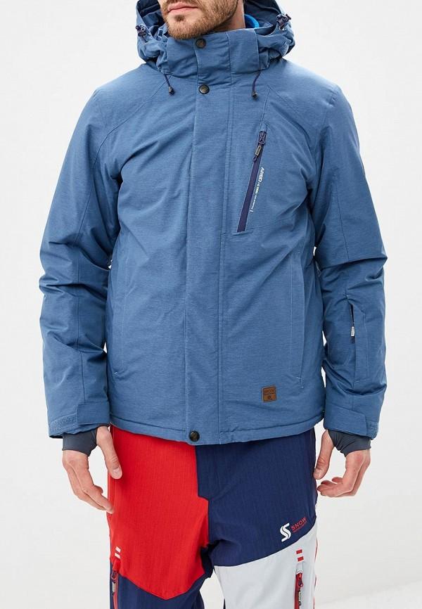 Купить Куртка горнолыжная Snow Headquarter, mp002xm23wxu, синий, Осень-зима 2018/2019