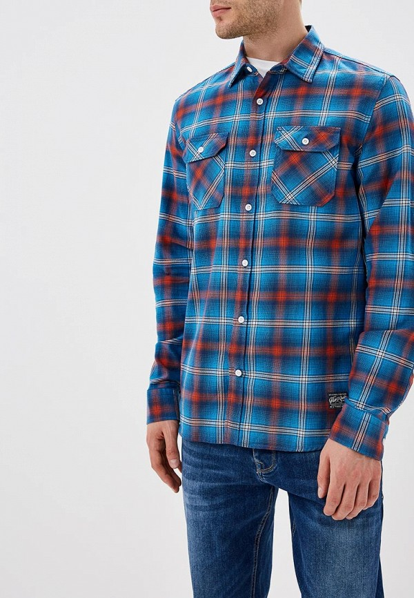 Купить Рубашка Colin's, MP002XM23X0R, синий, Осень-зима 2018/2019