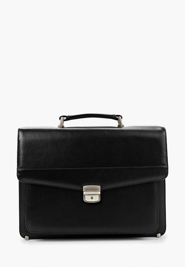 мужской портфель franchesco mariscotti, черный