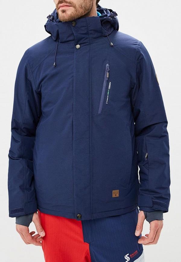 Купить Куртка горнолыжная Snow Headquarter, mp002xm23x3b, синий, Осень-зима 2018/2019