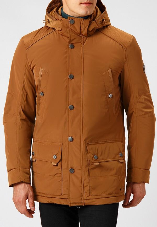 Купить Куртка утепленная Finn Flare, mp002xm23x43, коричневый, Осень-зима 2018/2019