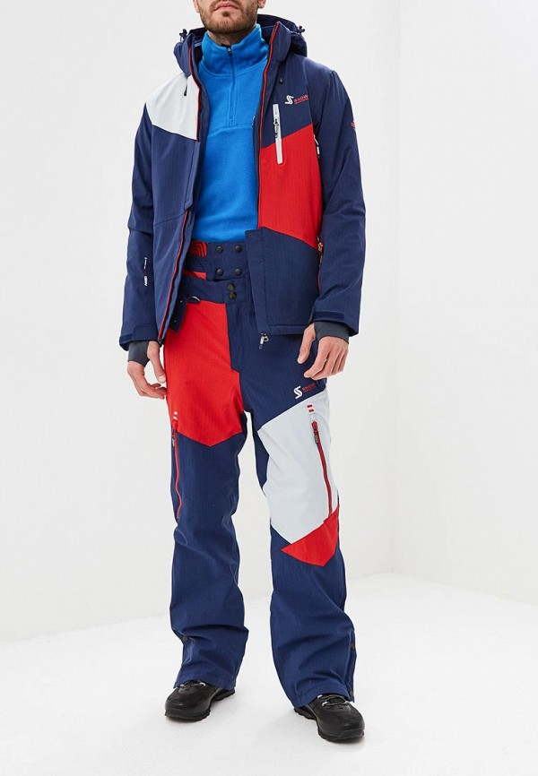 мужской костюм snow headquarter, синий