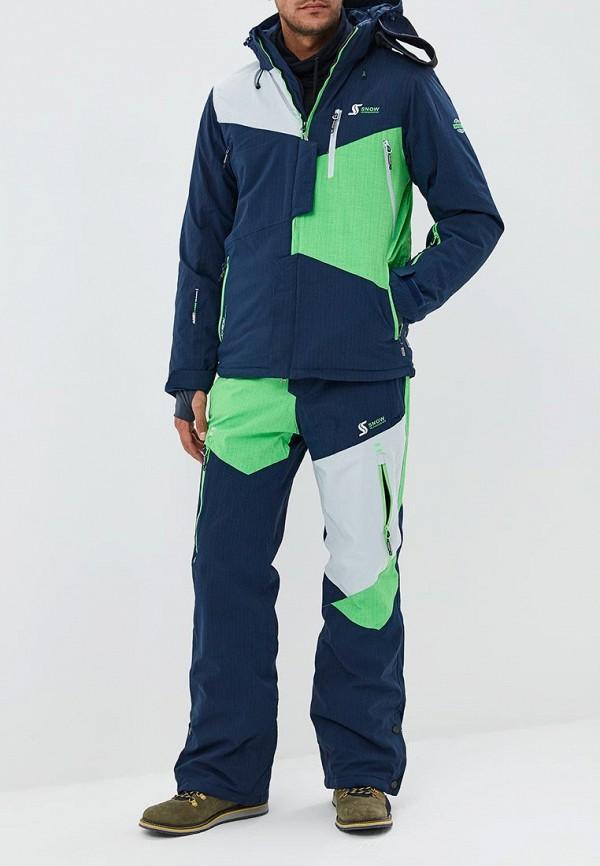 Купить Костюм горнолыжный Snow Headquarter, mp002xm23x63, зеленый, Осень-зима 2018/2019