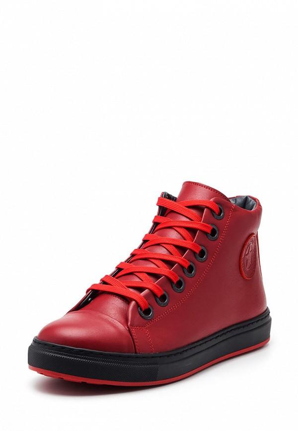 мужские ботинки broni, красные