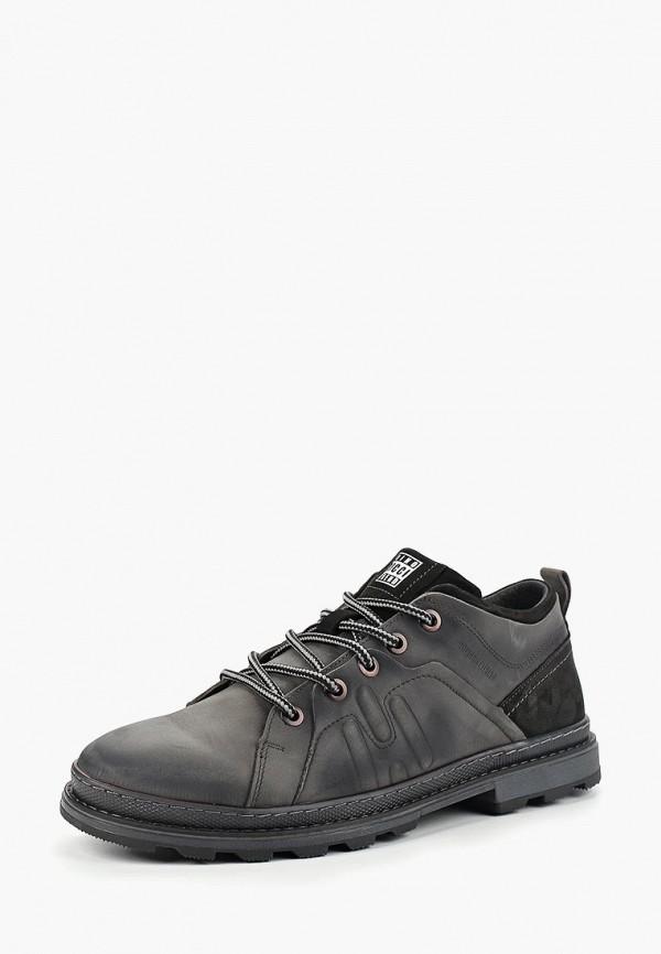 мужские ботинки dino ricci, серые