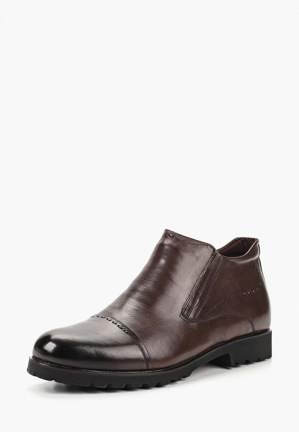 мужские ботинки dino ricci select, коричневые