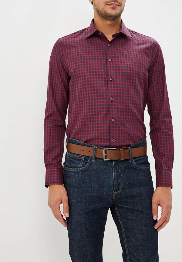 Купить Мужскую рубашку Biriz бордового цвета