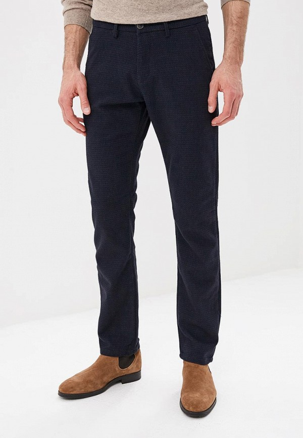 мужские брюки чинос bawer, синие