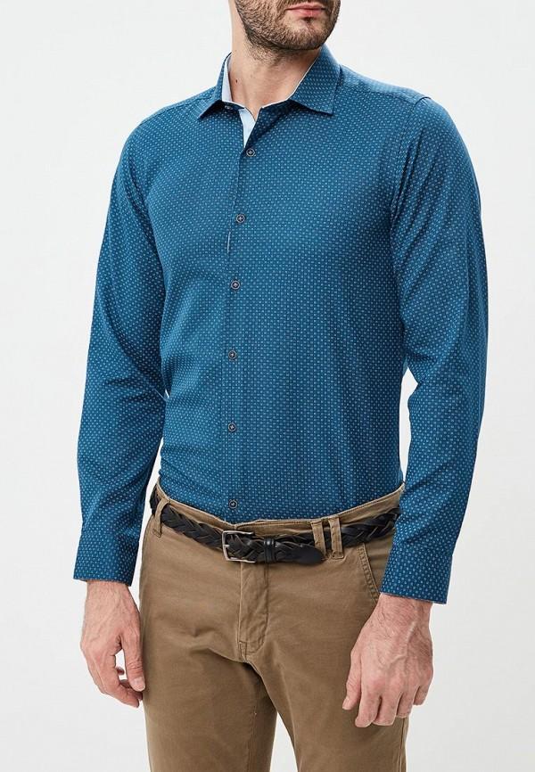 Шарф  синий цвета