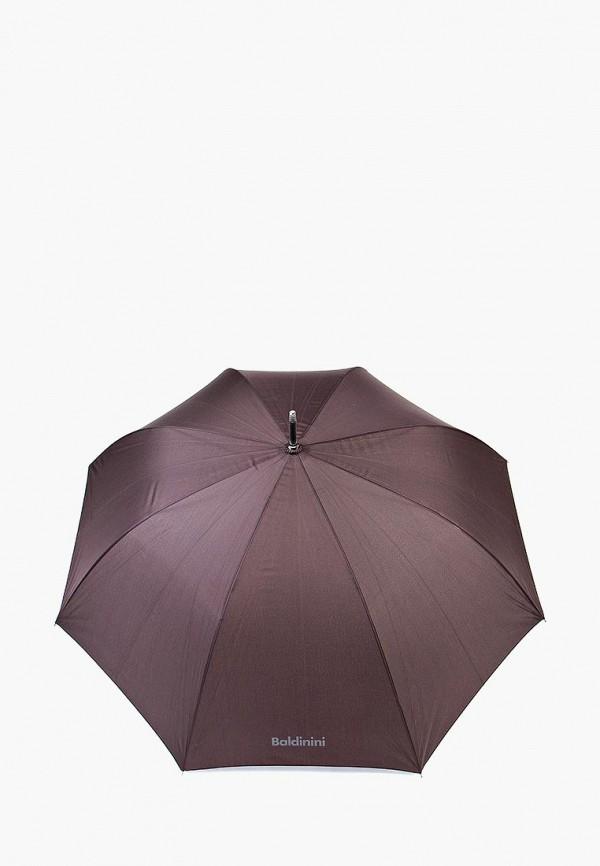мужской зонт baldinini, коричневый