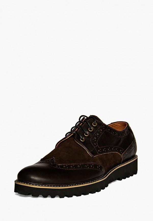 мужские туфли handys, коричневые